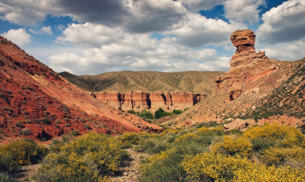 The Charyn Canyon, Kazakhstan