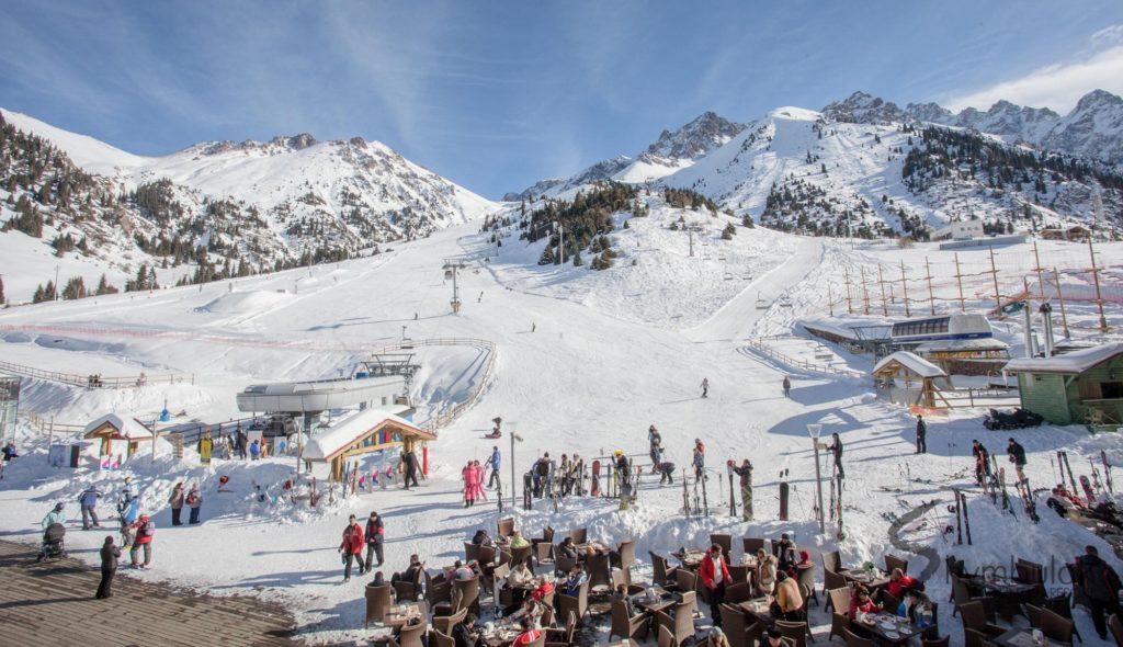 Shymbulak Ski Resort Almaty Kazakhstan