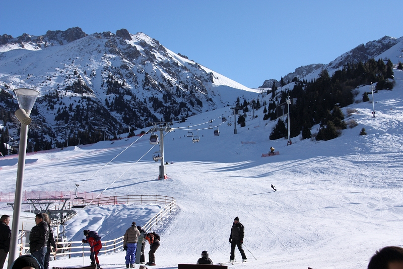 Shymbulak Ski Resort Almaty