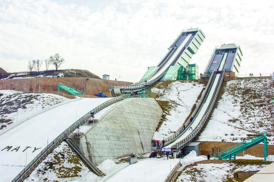 Sunkar International Ski Jumping Complex Almaty
