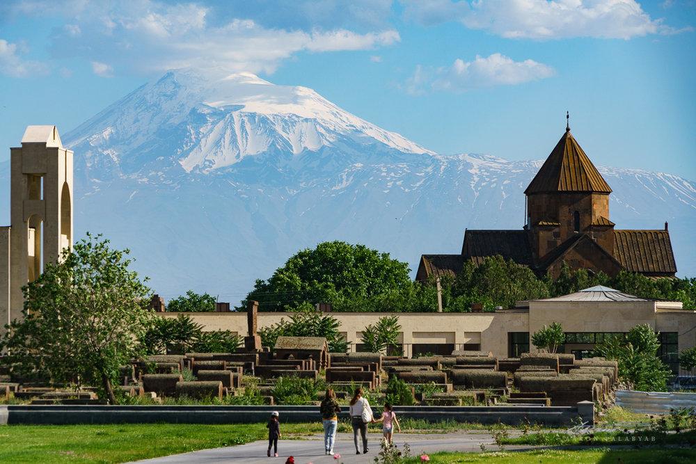 Tourist in Armenia