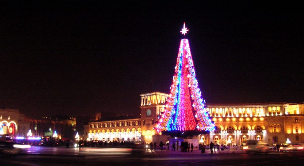 Armenians Celebrate Christmas