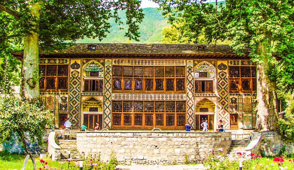 The Palace of Shaki Khans in Azerbaijan