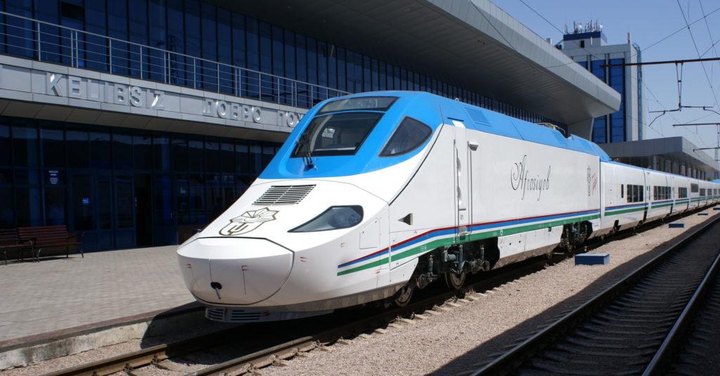 Train Tours in Uzbekistan