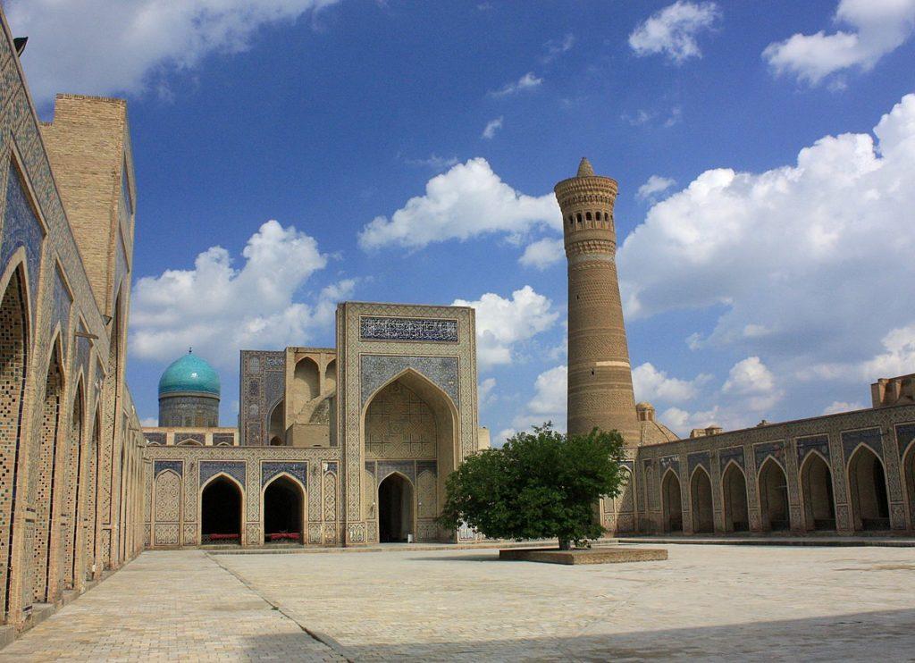 The Great Minaret of Kalon Bukhara