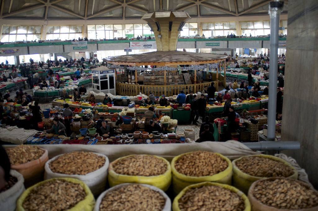 Chorsu Market in Tashkent