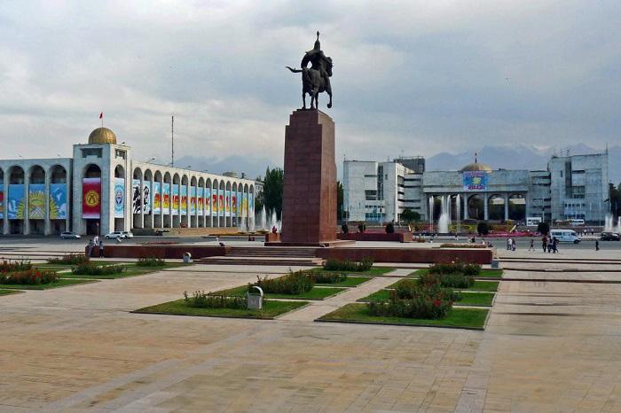 Ala Too Square Bishkek