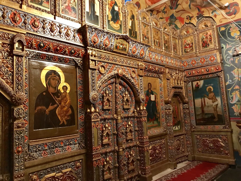 Saint Basil's Cathedral Inside