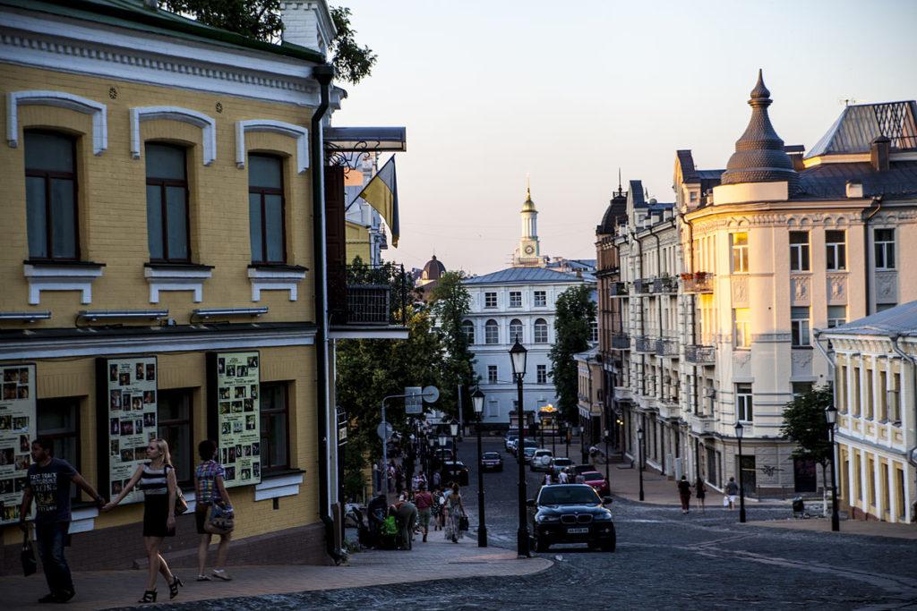 Andriyivskyy Descent street