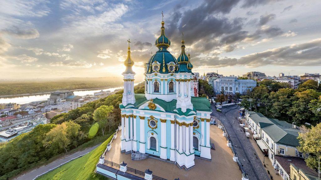 Saint Andrew's Church Kiev