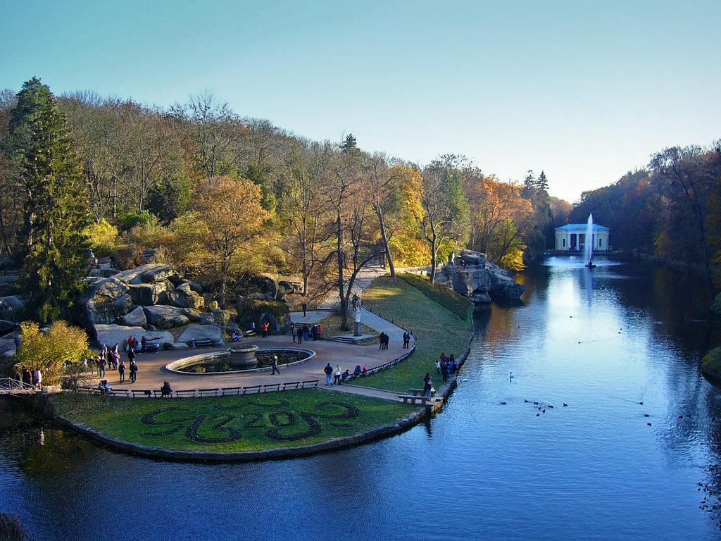 Sofiyivka Park Uman Ukraine