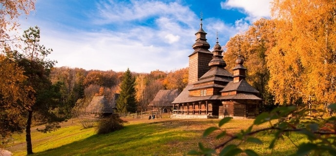 Pyrohovo Museum of Folk Architecture Ukraine