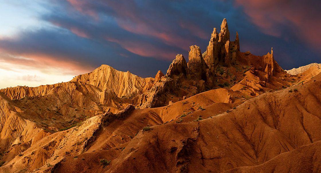 Fairy Tale Canyon Kyrgyzstan
