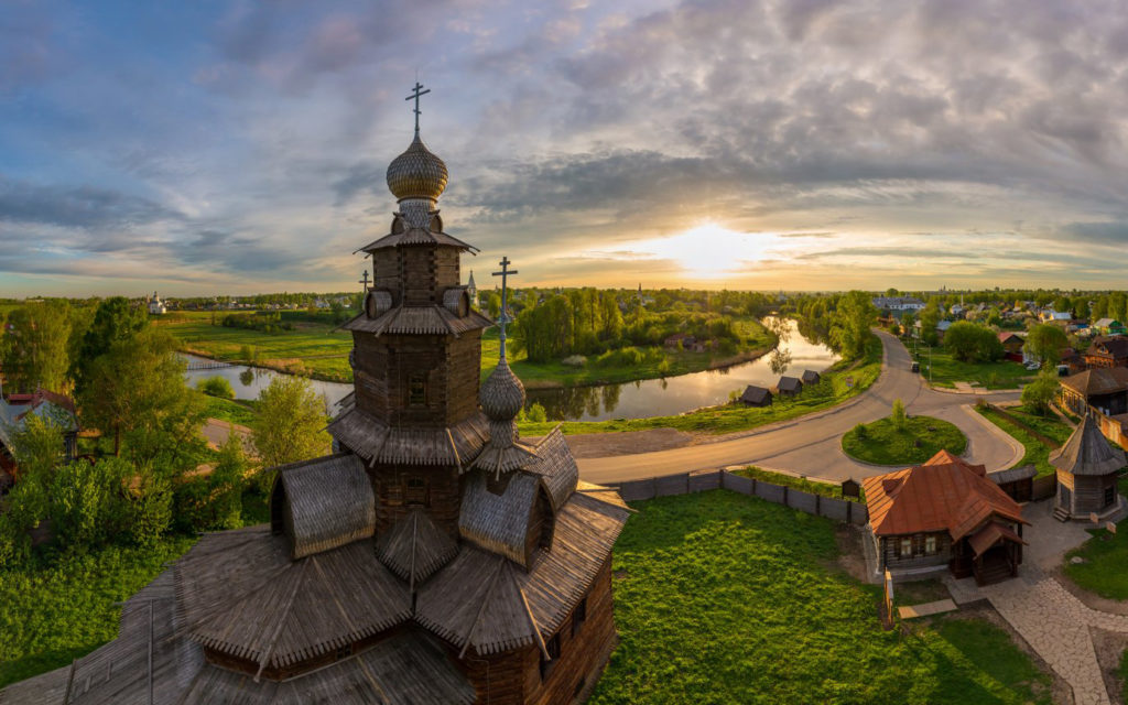 Suzdal Old Town in Russia