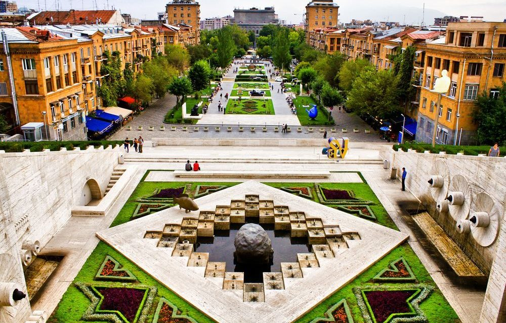 The Cascades Yerevan