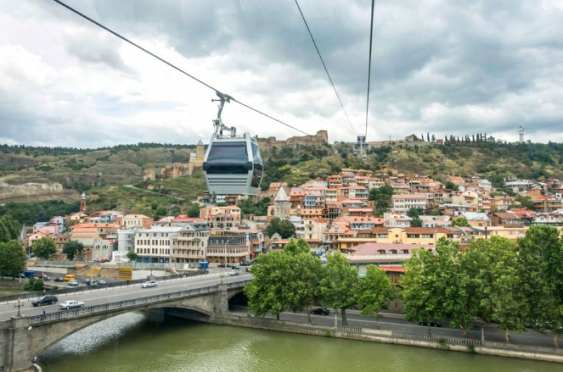 Aerial Tramway, Tbilisi