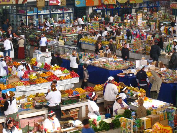Karavan Bazaar Tashkent