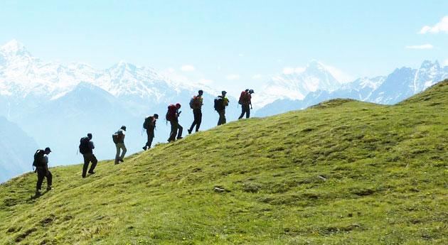 The Lord Curzon Trail Kuari Pass Trek