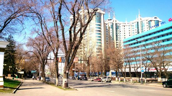 Laid back vibe of the city Almaty