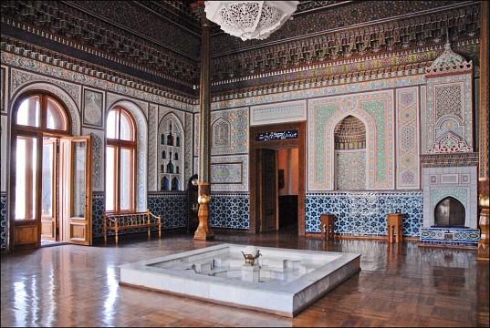Uzbekistan state museum of Applied Arts Tashkent