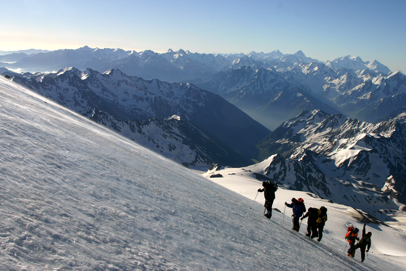 Mount Elbrus Climb Through South Side