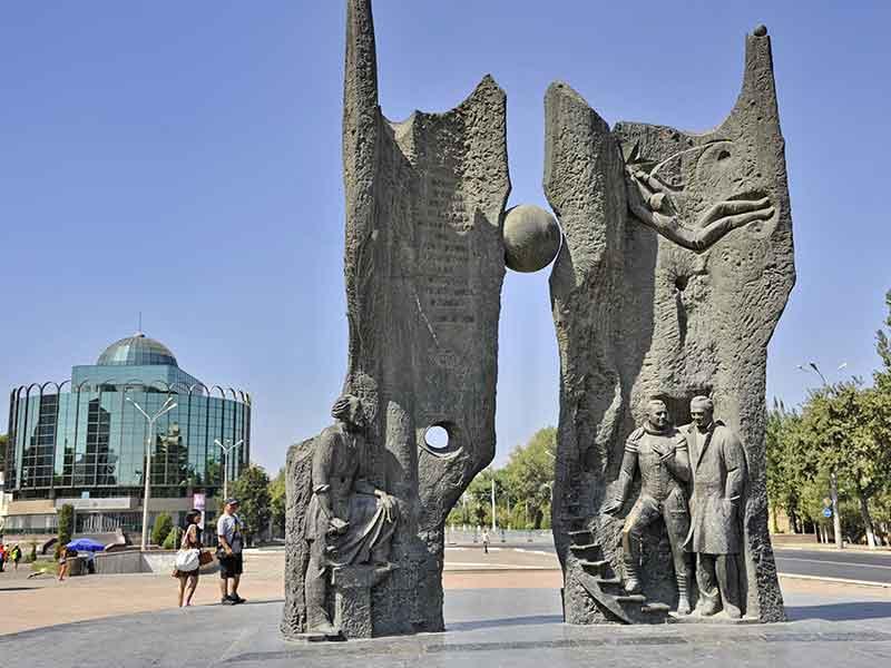 Memorial of Cosmonauts Tashkent