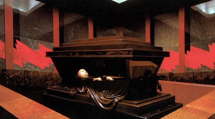 Lenin's Tomb Moscow Inside