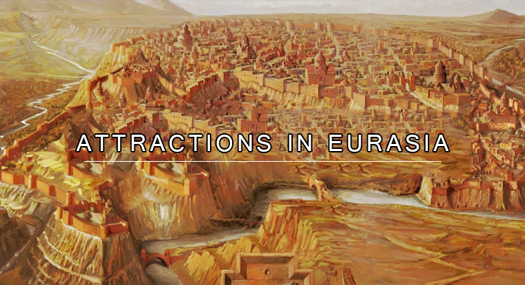 Attractions in Eurasia