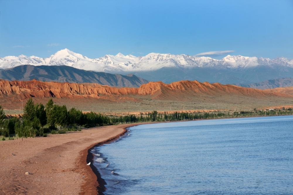 Issyk Kul Lake, Kyrgyzstan
