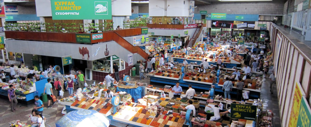 Shopping in Almaty