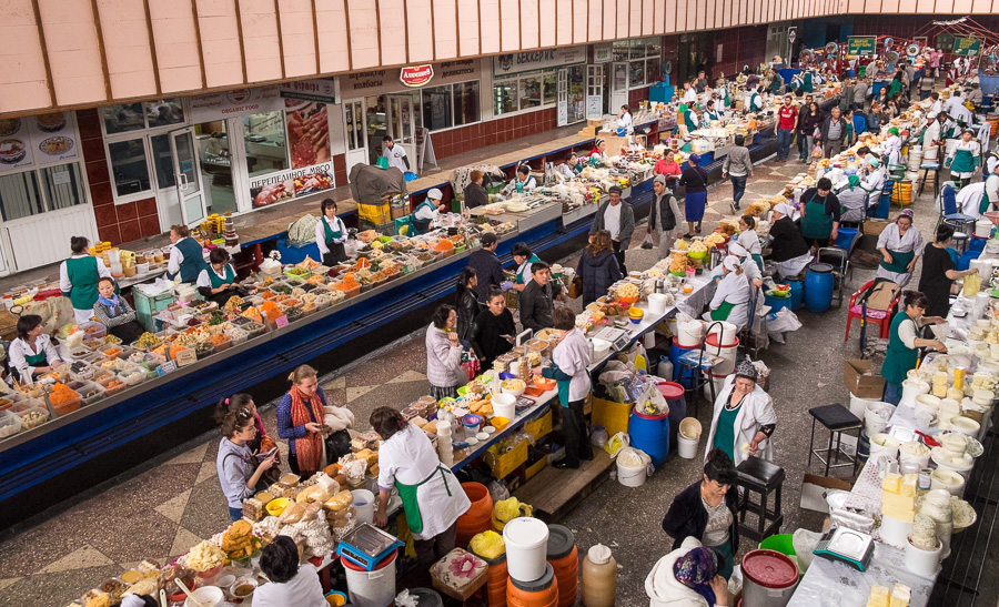 Zelyony Bazaar Almaty