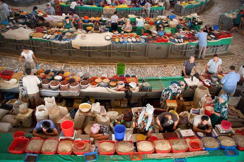 Chorsu Bazaar - Tashkent, Uzbekistan