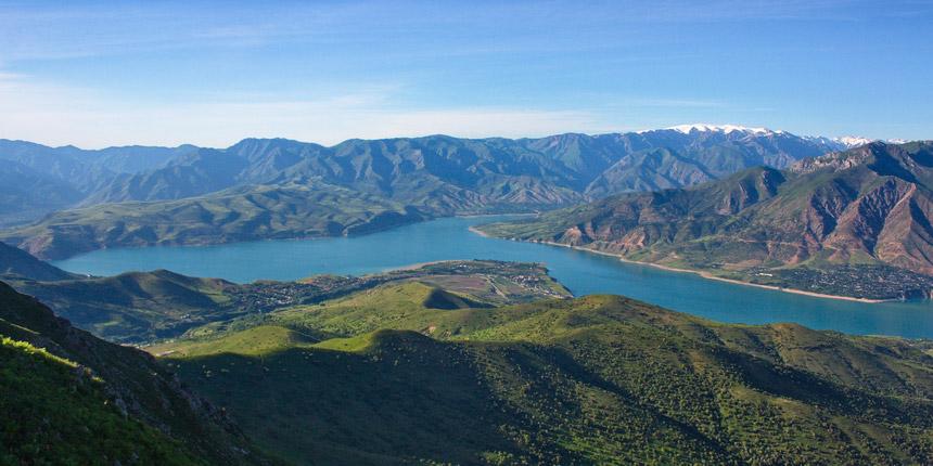 Charvak Reservoir, Uzbekistan