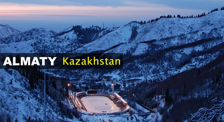 Almaty in Winter