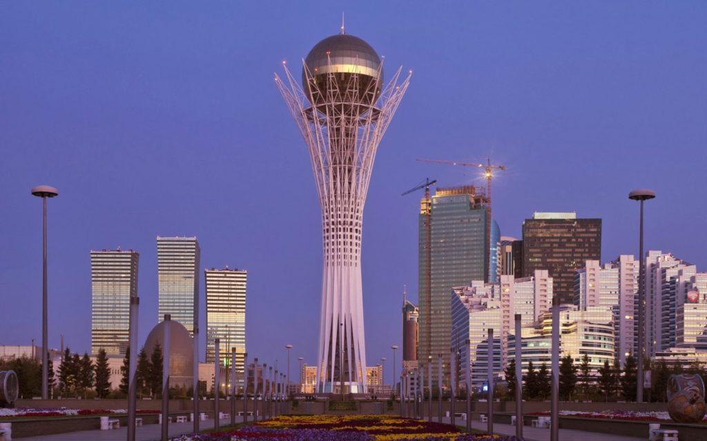 The Bayterek Tower, Astana