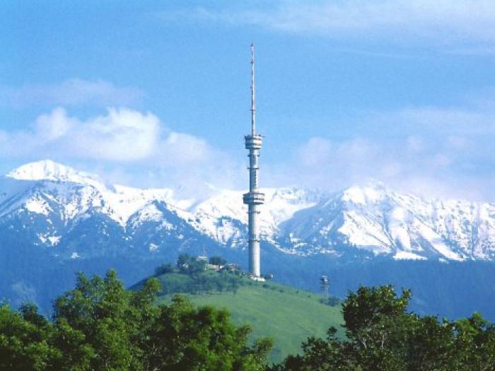 Kok Tobe Hill, Almaty