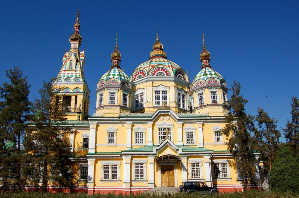 Zenkov Cathedral, Almaty