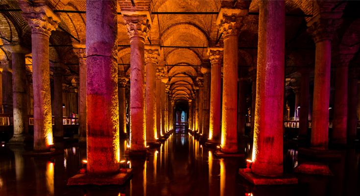 Basilica Cistern Turkey