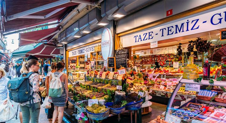 Shop at Local Markets Turkey