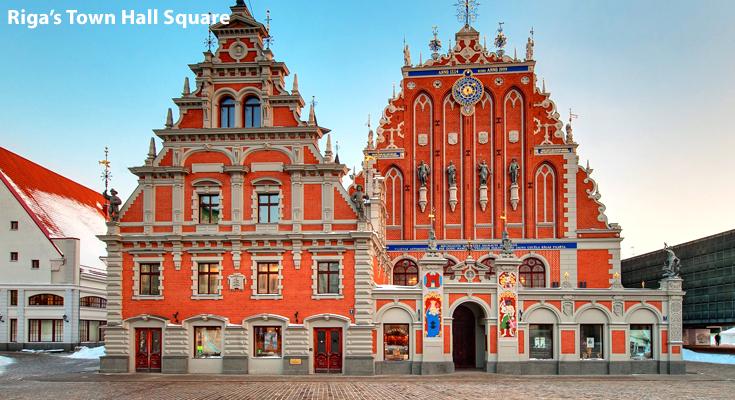 Town Hall Square Riga