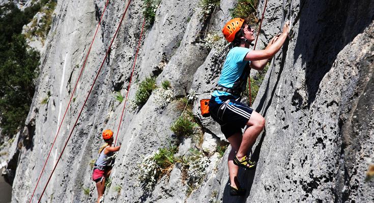 Go Rock Climbing at Santine Stine
