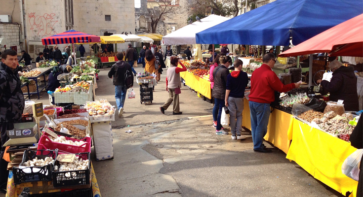 Stroll and Shop from Split's Markets