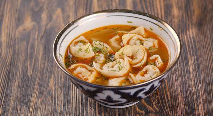 Chuchvara Soup