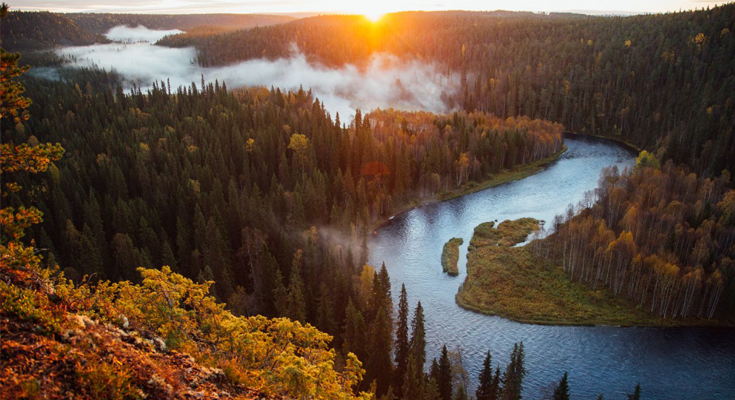 Access The Wilderness in The Central Finnish Lapland