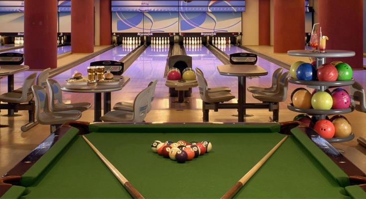 Bowling and Pool Tables