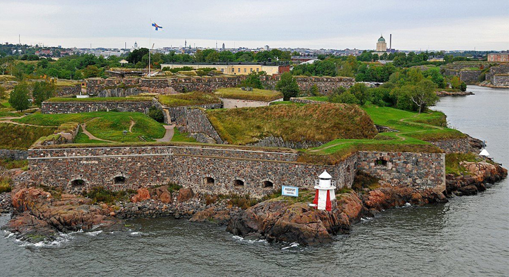 Explore The Giant Maritime Fortress