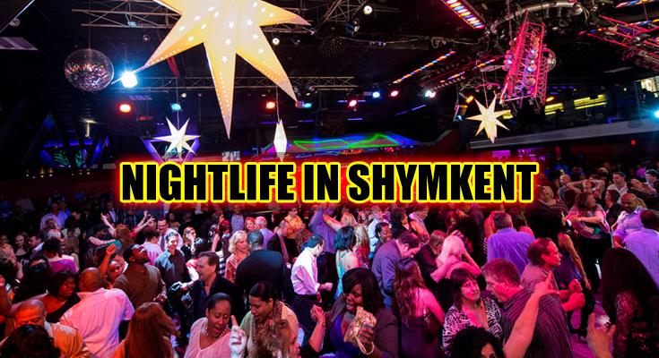 Nightlife in Shymkent