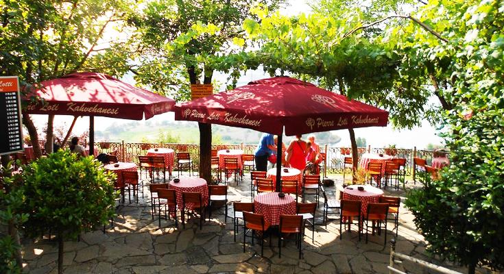 Pierre Loti Hill Cafe, Turkey