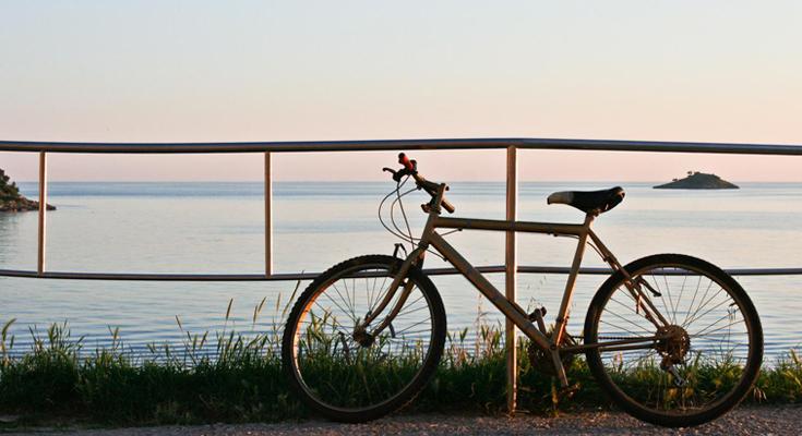 Try Island Hopping Using A Bike
