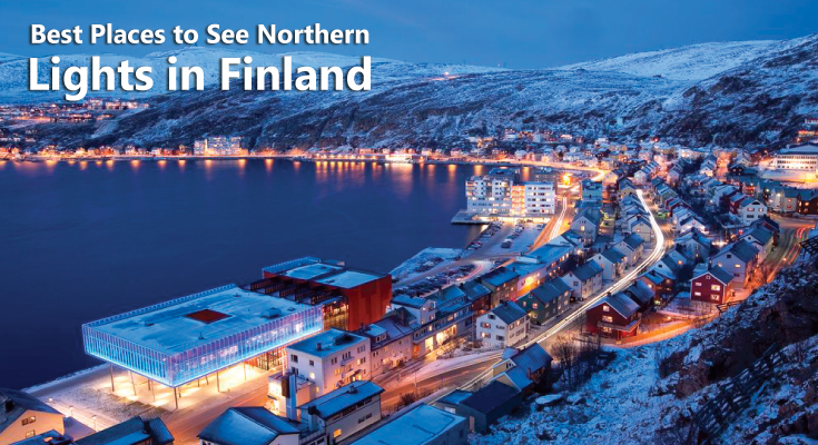 Places to See Northern Lights in Finland